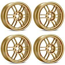 Enkei Rpf1 17x8 45 5x100 Lightweight Racing Wheels For Subaru Impreza Wrx Sti