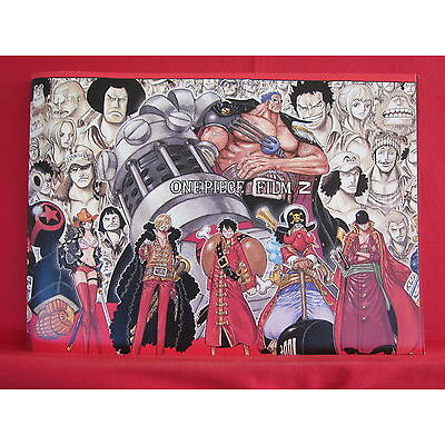 One Piece 7 The Movie File Z Memorial Guide Art Book
