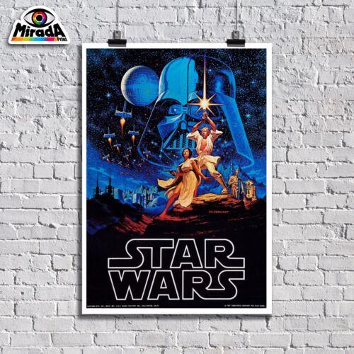 Poster Vintage Krieg der Sterne Star Wars Lucas Film Film Poster Top Quality