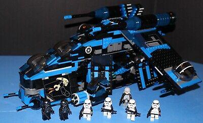 LEGO® brick STAR WARS™ MOC 7676 REBELS IMPERIAL GUNSHIP 7 Fig Crew 100/% LEGO
