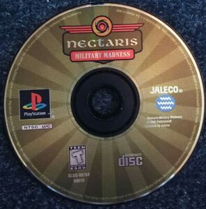 Nectaris-Military-Madness-Ps1-Playstation-one-Tested-Disc-Only-Video-Game-Rare