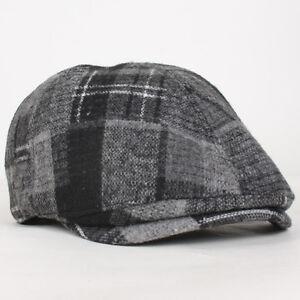 fe26fdd468a88 Details about Unisex Wool Ivy Gatsby Cap Duckbill Beret Newsboy Golf Flat  Hunting Hat Driving