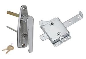 Image Is Loading Garage Door L Handle Lock With Inside Slide