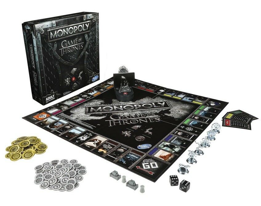 Monopoly Game of Thrones Board Game for Adults - Limited edition-Very Rare❗️ New