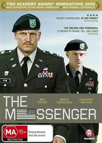 1 of 1 - The Messenger (DVD, 2011)-REGION 4-Free postage