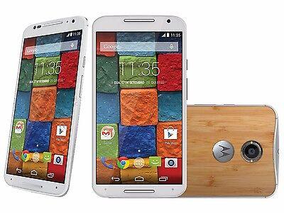 Motorola Moto X 2nd Gen XT1097  GSM Unlocked Smartphone 16/32G Bamboo Wood