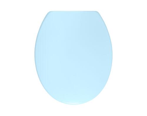Duroplast hellblau mit Absenkautomatik Soft Close Sanwood WC-Sitz FELINE blau