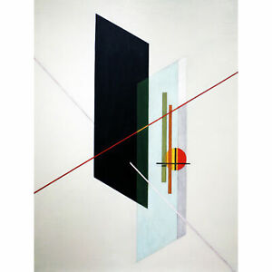 Moholy-Nagy-A-IX-Constructivist-Abstract-Painting-XL-Canvas-Art-Print