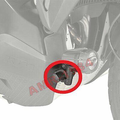 US Stock Pair Silver Motorcycle Saddlebag Support Mount Brackets Set 33x11x10cm
