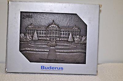 Aufstrebend Buderus Wand Platte Relief Wandbild Gußeisen - Residenz Zu Würzburg - 2001