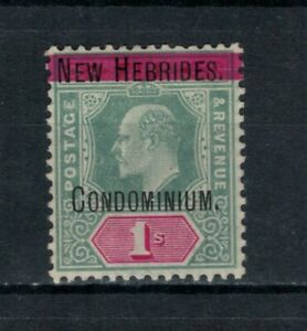 New Hebrides (Br) Scott 9 in MH Condition