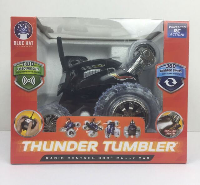 Rc 360 Thunder Tumbler The Black Series Rally Remote Car Toy Ebay