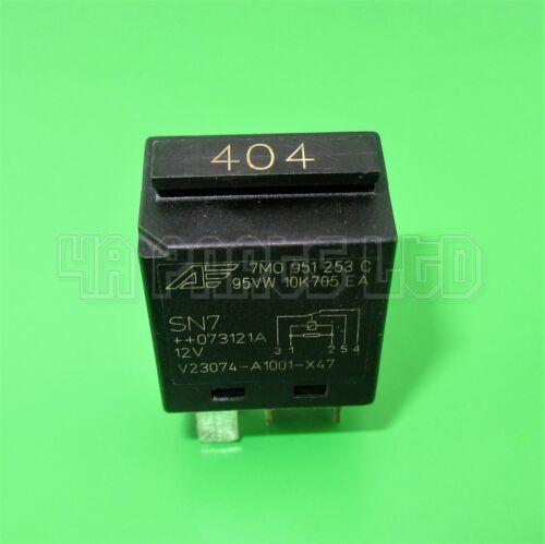Audi VW Seat Skoda Black 404 Contact Close Relay 95VW10K705EA 7M0951253C