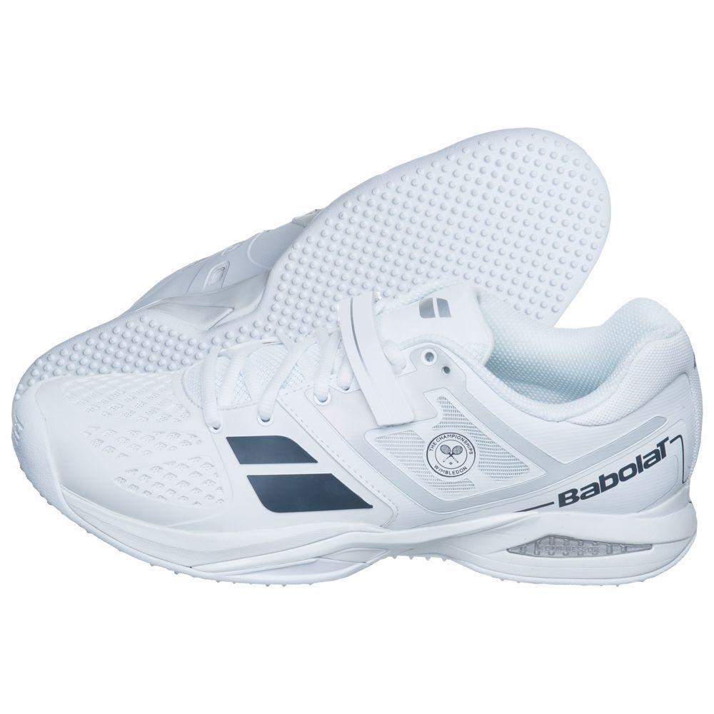 Babolat propulse grass wimbledon grass court tennis chaussures uk 8.5