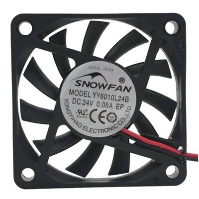 6CM 6025 Double Ball DC Cooling Fan YY6025H12B 12v 0.25A