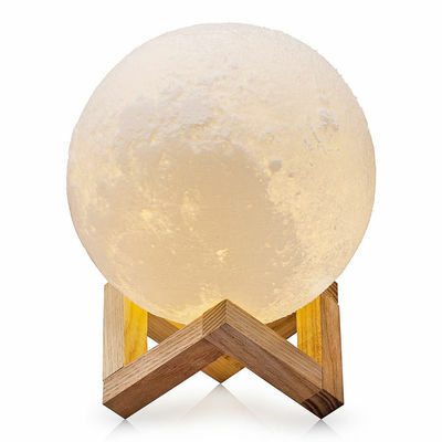 3D USB LED Magical Moon Night Light Moonlight Table Desk Moon Lamp Home Decor CN