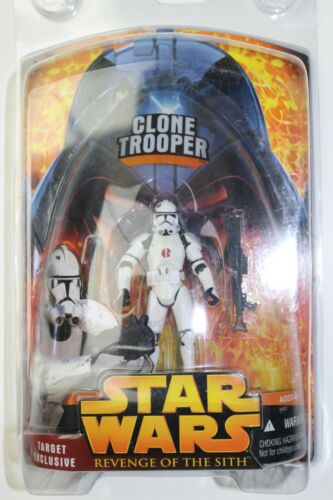 2005 Star Wars Revenge of the Sith Storm Trooper Figure NEW ON CARD
