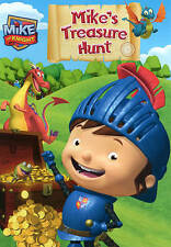 MIKE THE KNIGHT: Mike's Treasure Hunt DVD (tv) Plays Great, Nice Condition  USED