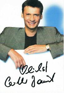 Günther Jauch, original Autogramm auf Autogrammkarte Motiv 2