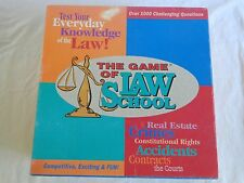 The Game of Law School 1991 Charles Game Concepts USA Expand Everyday Knowledge
