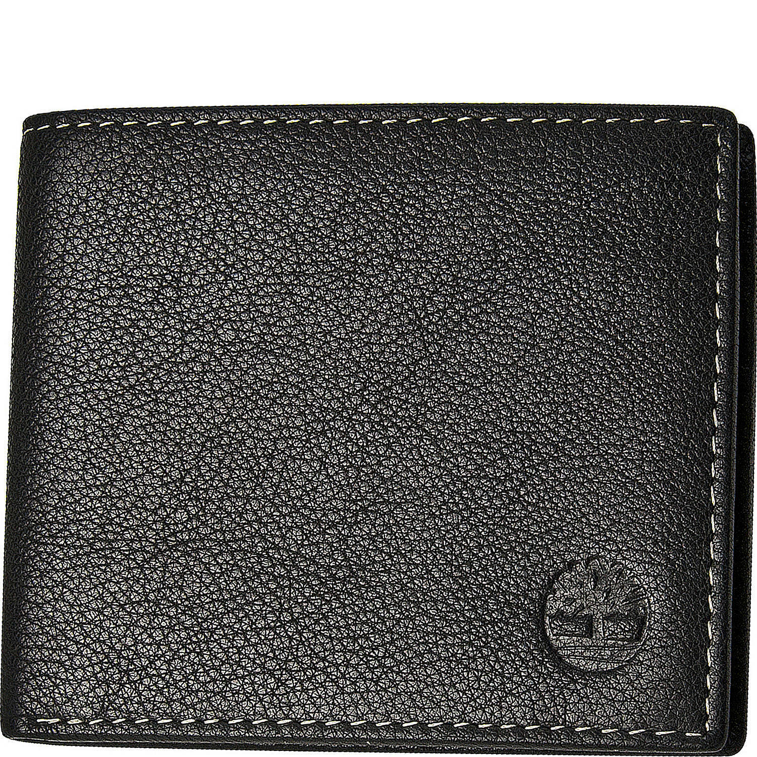Timberland Men's Genuine Leather Bifold Passcase Wallet