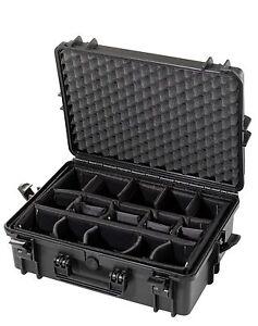 Fotokoffer-Kamerakoffer-Fachteilung-Outdoor-Case-500x350x195-wasserdicht-IP67