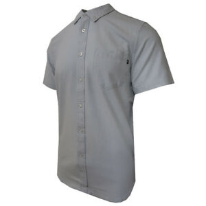 Obey-Men-039-s-Light-Gray-S-S-Woven-Shirt-Retail-80