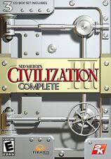 Sid Meier's Civilization III COMPLETO-PC-estrategia clave de vapor-Expansiones Inc.