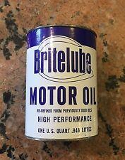 BriteLube Motor Oil Bank Quart
