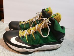Nike-Air-Max-Stutter-Step-Men-Shoes-Size-11-5-yellow-green-Basketball-599565-013