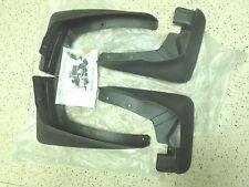 NEW MUD FLAPS SPLASH GUARDS 4 piece MITSUBISHI OUTLANDER OEM 07-13 XLS LIMITED