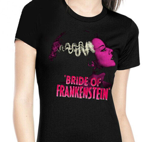 Rock Rebel Bride of Frankenstein Shirts S-2XL Ladies T