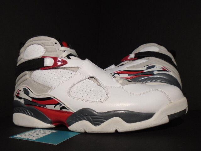 2018 Nike Air Jordan VIII 8 Retro WHITE BLACK TRUE RED BUGS BUNNY 305381-103 13