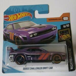 Dodge-Challenger-Drift-Car-Hot-Wheels-2019-Nightburnez-6-10-Mattel