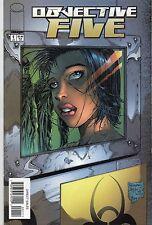 Image Comics Objective Five #1 July 2000 VF+