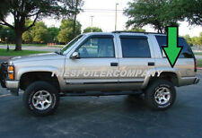 ABS BLACK FENDER FLARES FOR CHEVY TAHOE 2000 2001 2002 2003 2004 2005 2006 NEW