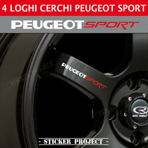 adesivi peugeot sport cerchi specchietti 4x stickers 207. Black Bedroom Furniture Sets. Home Design Ideas