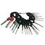 41Pcs Car Electric Wiring Terminal Plug Pick Connector Crimp Pin Removal Tool