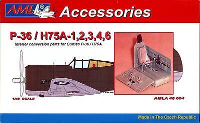 AML Models 1//48 CURTISS P-40B//C /& TOMAHAWK CONTROL SURFACES Resin /& PE Conv Kit