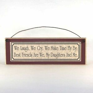 BEST-FRIEND-DAUGHTERS-poem-Mother-039-s-Day-Sign-Plaque-unique-gift-ideas-for-Mom