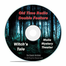 Witch's Tale, Molle Mystery Theater, All 186 Episodes Old Time Radio OTR DVD F86