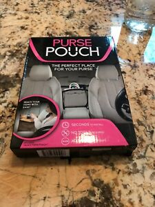 "Purse Pouch Car Accessory Organizer Holder New in Box /""AS SEEN ON TV/"""
