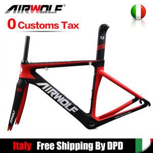 Details About 2018 Carbonio Telaio Bici Da Strada 3k 48515456cm Telaio Bici Da Corsa Bsa