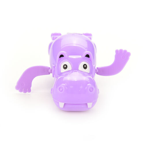 J/&C Hippo Baby Kids Bath Toy Clockwork Wind Up Plastic Swimming Toys FOP0UK