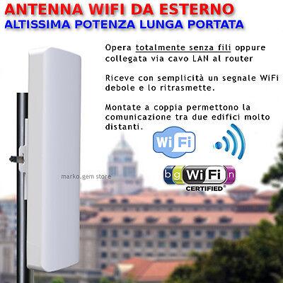 Antenna WiFi esterno alta potenza ripetitore amplificatore wireless