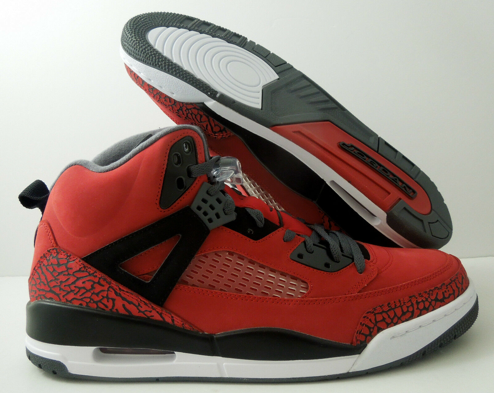 NIKE AIR JORDAN SPIZIKE GYM RED-BLACK-GREY-WHT