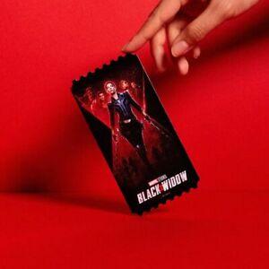 Black Widow Megabox Original Limited movie ticket