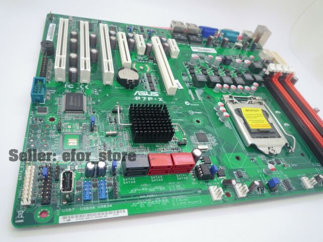 NEW unused ASUS P7F-X Socket 1156 Server Motherboard