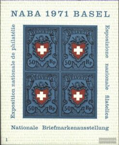 Schweiz-Block21-kompl-Ausgabe-postfrisch-1971-NABA-Basel