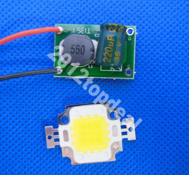 10w 20w 30w 50w High power LED Chip warm/cool white+ Constant Current LED Driver